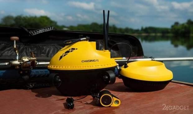 Дрон Chasing F1 позволит рыбакам отслеживать добычу под водой