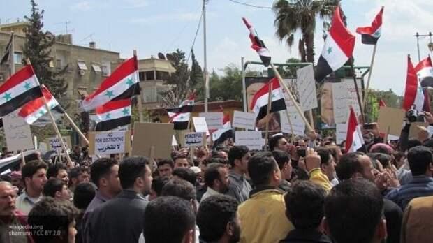 Организаторы протестов в Сирии являются сотрудниками американского ЦРУ