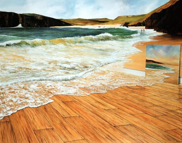The Ocean Floor (46cm x 63cm)
