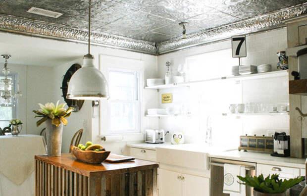 Металлический потолок, современное прочтение