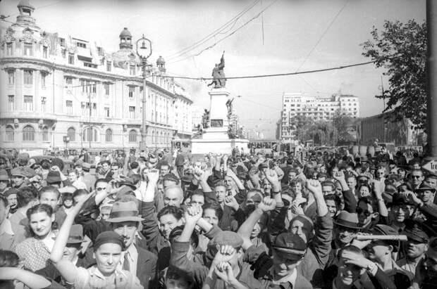 Освобожденная Европа глазами советских фотографов