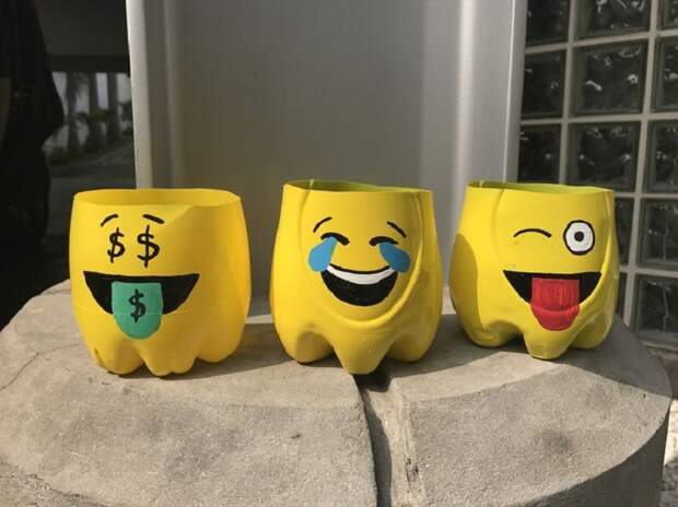 вазы-смайлики