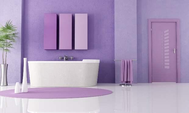 Покраска стен в ванной комнате: как сочетать стильный дизайн и практичность (53 фото)