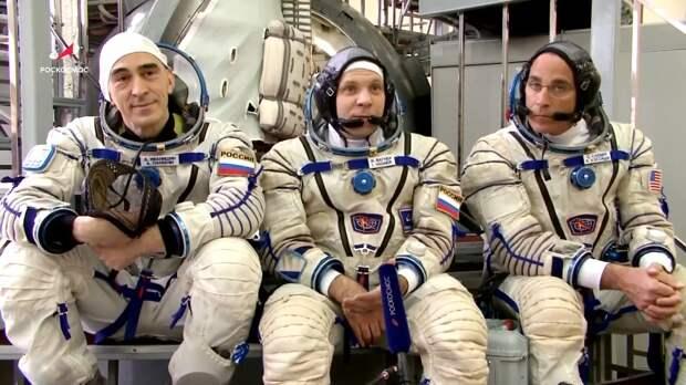 Россияне и американец благополучно вернулись с международной космической станции