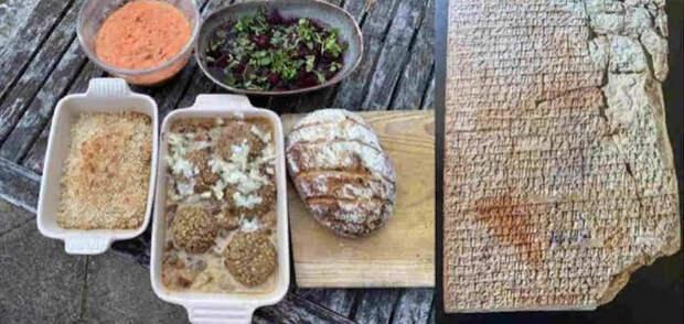Как сегодня приготовить блюда 1000-летней давности, которые ели жители Древней Месопотамии, Египта и