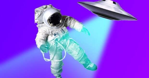 Российский космонавт заснял НЛО
