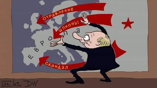 Реакция французов на российскую помощь Италии. Комментарии
