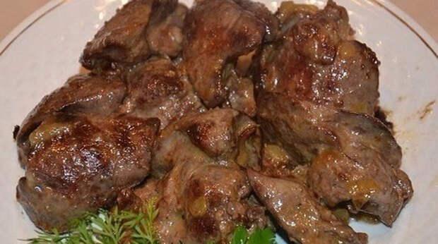 Вкусная и нежная говяжья печень. Рецепт моей свекрови
