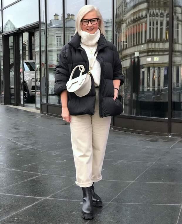 Чтобы выглядеть стильно, нужно знать, что надеть. Образы для женщин 45+
