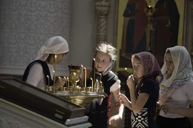 Православные отмечают прощёное воскресенье