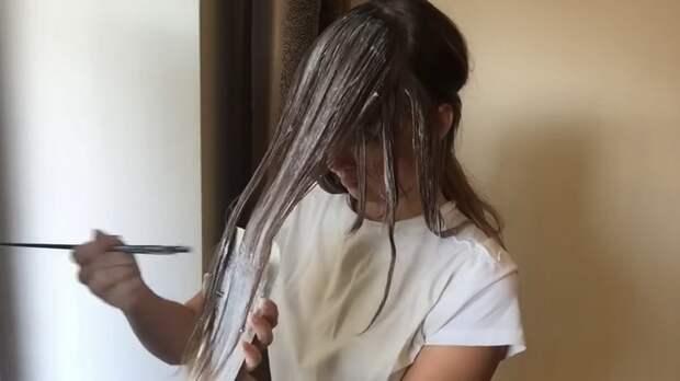Модное окрашивание «балаяж» в домашних условиях
