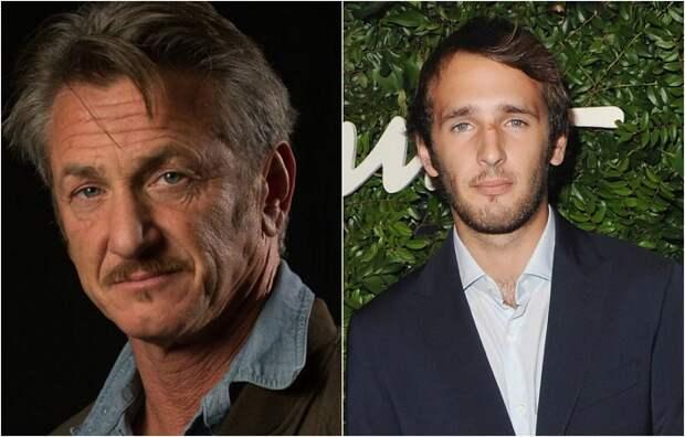 Призёр трёх крупнейших кинофестивалей мира Шон Пенн и его сын 24-летний актер Хоппер Пенн.