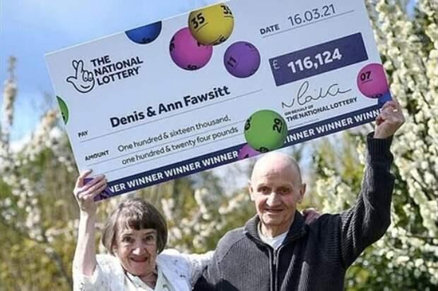 Плохое зрение помогло пенсионеру сорвать куш в лотерею