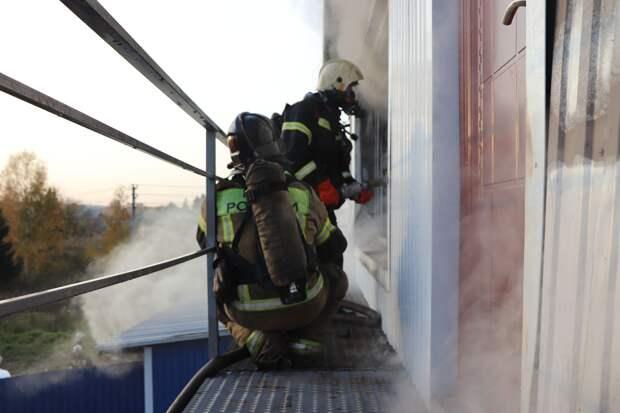Более 170 пожаров произошло в Удмуртии в октябре