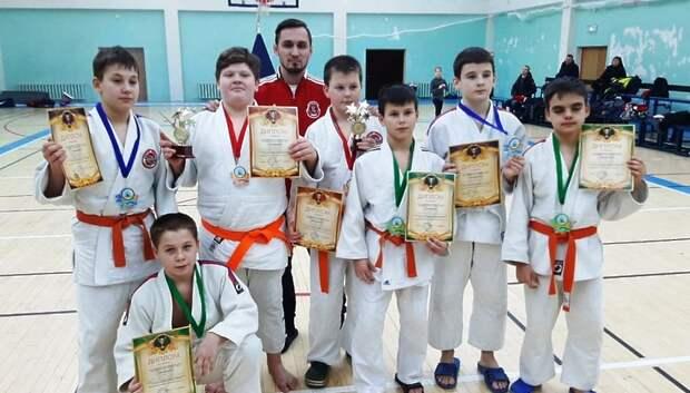 Двое спортсменов из Подольска победили на первенстве по дзюдо среди юношей