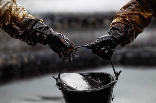 Нефть ведро