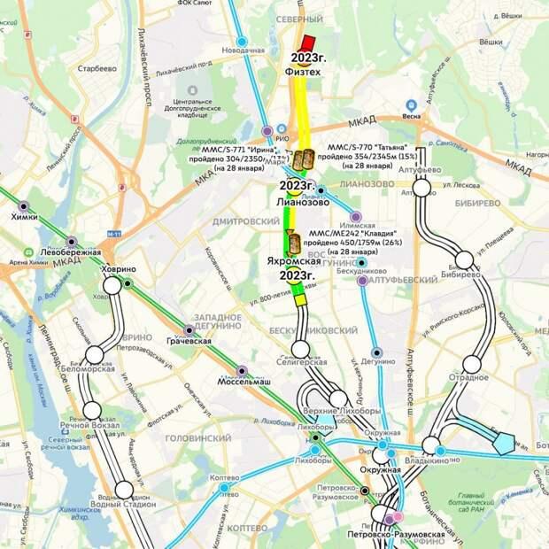 Станцию «Лианозово» могут открыть уже в сентябре 2023 года