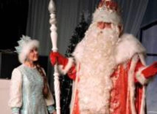В Великом Устюге отметили День рождения Деда Мороза