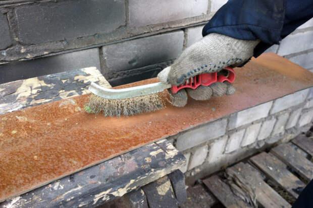 Как убрать ржавчину с металла?