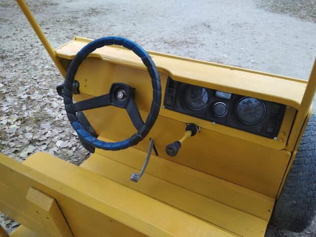 Грузовая машина для детской площадки своими руками