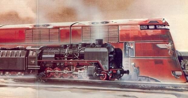 Железная дорога-монстр: как выглядел один из самых масштабных проектов Гитлера