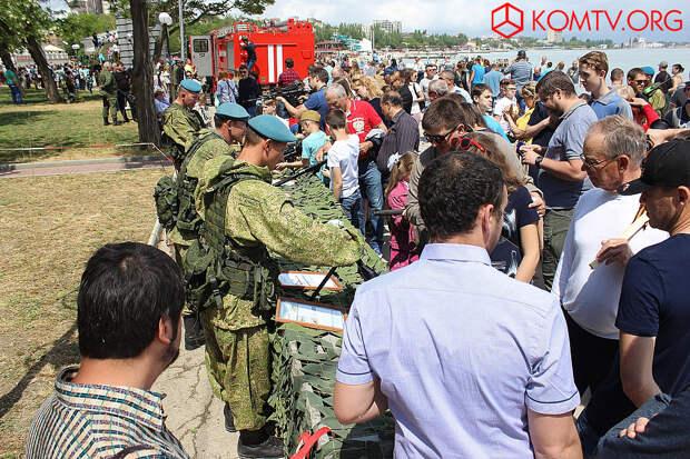 Феодосия отпраздновала День Великой Победы