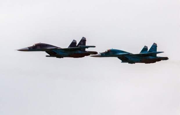 Катастрофа Су-34 на Дальнем Востоке. (18.01.2019)
