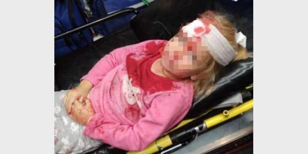 Белорусский ОМОН напал на семью с маленьким ребенком. Пятилетняя девочка попала в больницу