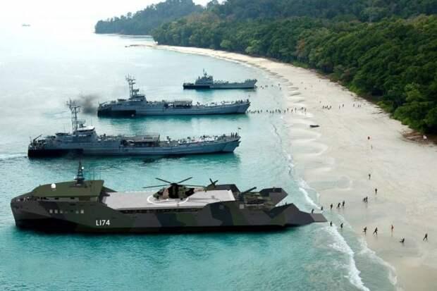 «Подойдут для высадки морпехов на Балтике»: США намерены вооружиться легкими десантными кораблями