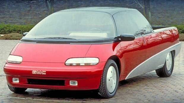 GMC Centaur 1988: забытый концепт-кар GMC, GMC Centaur, авто, автодизайн, автомобили, концепт, концепт-кар, пикап