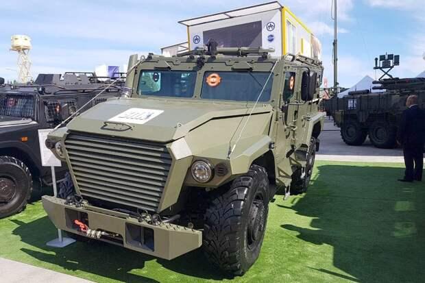 Страшный сон для США: Россия представила новый бронеавтомобиль «Атлет»