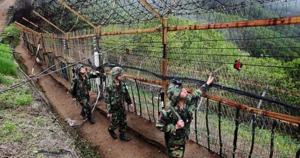 Прыжок ксвободе: гимнаст изКНДР перепрыгнул через трехметровый забор вЮжную Корею