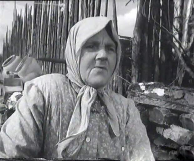 Варвара Попова в фильме «Конец света» (1962)