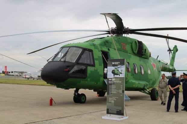 Заслуженный пилот РФ рассказал, кто будет летать на VIP-вертолете Ми-38Т