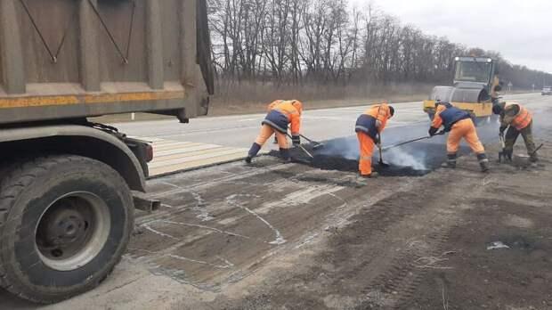 Ямы надорогах Ростовской области будут ремонтировать посистеме «Светофор»