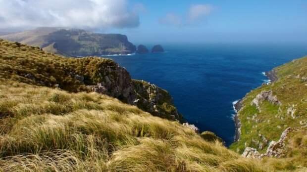 необитаемый остров зеландии