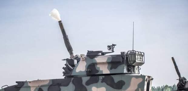 Новый вариант самоходного миномета M120G Rak (Польша)