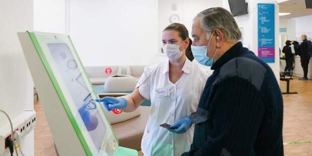 Собянин: Еще две поликлиники начали прием пациентов после реконструкции / Фото: Е.Самарин, mos.ru