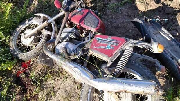 В Тотемском районе погиб мотоциклист, не справившийся с управлением