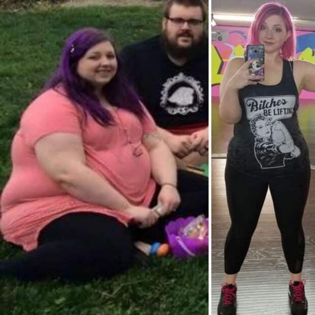 Люди, похудевшие настолько, что их трудно узнать