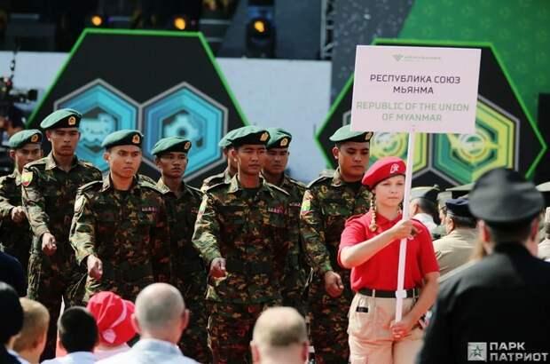 На пятых Армейских международных играх примут участие 206 команд из 30 стран