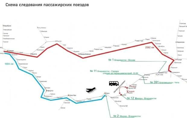 «РЖД» задерживают и отменяют 11 поездов из-за обрушения моста на Транссибе