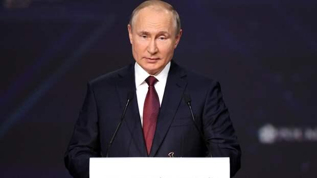 Президент России заявил о готовности ВМФ РФ нанести неотвратимый удар по противнику