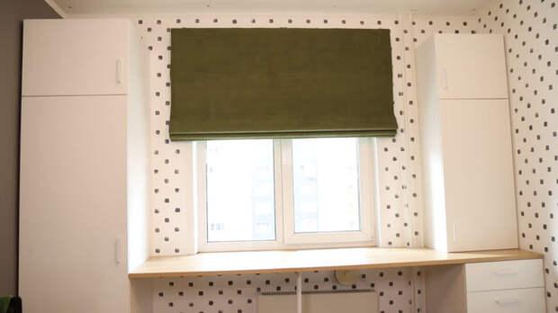 Оформление окна римскими шторами своими руками: можно отлично сэкономить