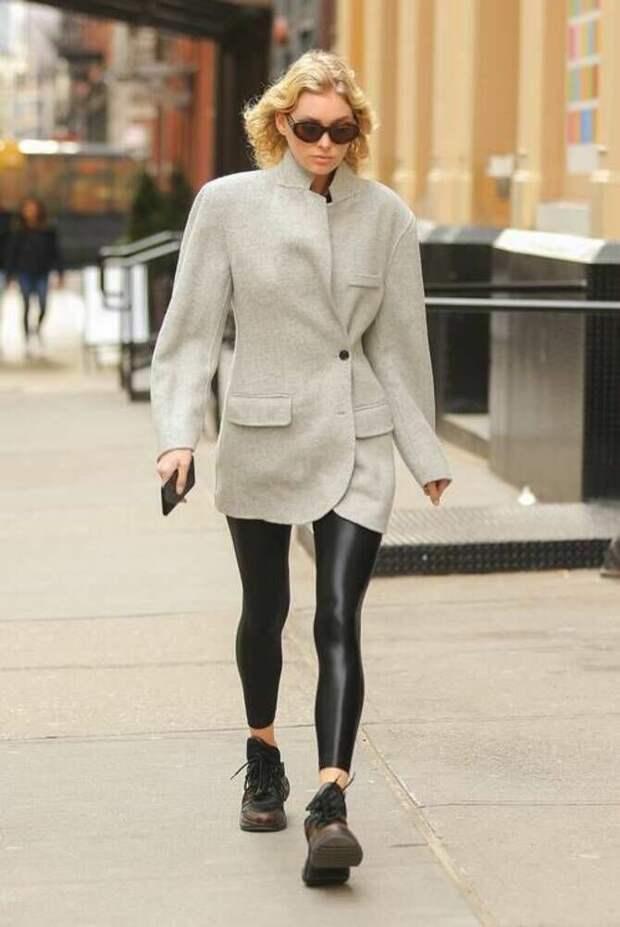 Как носить лосины зимой, чтобы не выглядеть глупо?