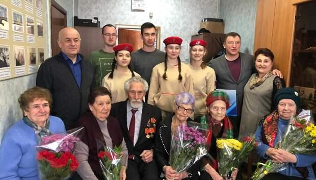 Семерым ветеранам Подольска вручили медали «75‑лет Победы в Великой Отечественной войне»