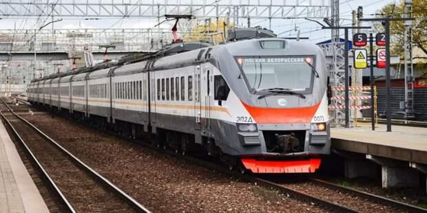 Собянин открыл железнодорожную станцию Внуково после реконструкции Фото: Ю.Иванко, mos.ru