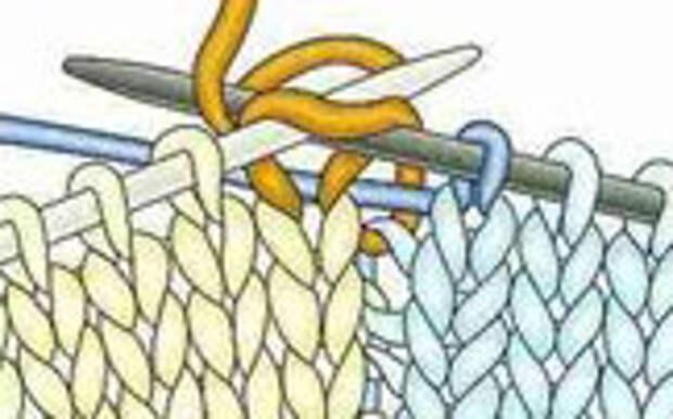 Интарсия. Техника многоцветного вязания