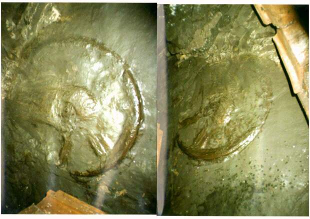 В донецкой шахте, на глубине 1 километра найден таинственный артефакт