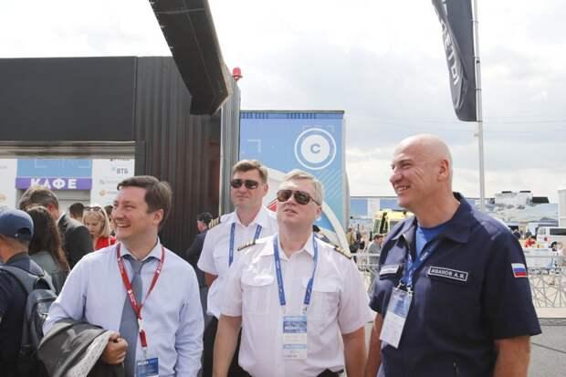 Сотрудники Московского авиацентра рассказали о своей работе на Международном авиационно-космическом салоне «МАКС-2021»